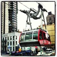 Photo taken at Roosevelt Island Tram (Manhattan Station) by Elena P. on 3/14/2013
