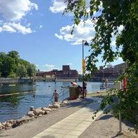 Photo taken at Mältinranta by Joe C. on 7/27/2013