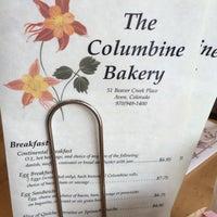 Photo taken at The Columbine Bakery by Vicky K. on 5/7/2014