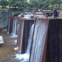 Photo taken at Ira C. Keller Fountain by Cara E. on 7/16/2013