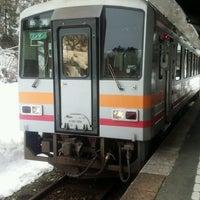 Photo taken at Bingo-Ochiai Station by Kazuharu T. on 3/1/2017
