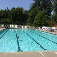Photo taken at Old Waverly Pool by Lauren G. on 9/6/2013