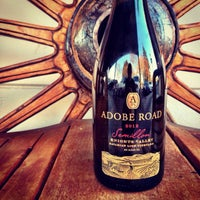 Photo taken at Adobe Road Winery by Palmer E. on 1/23/2014