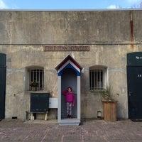Photo taken at Fort bij Penningsveer by Till G. on 3/16/2014