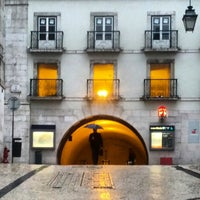 Photo taken at Metro Baixa-Chiado [AZ,VD] by João C. on 3/19/2013