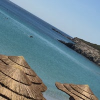 Photo taken at Glikoriza Beach by Burçin D. on 8/26/2017