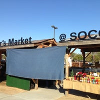 Photo taken at SoCo Farmers Market by Jed C. on 12/22/2012