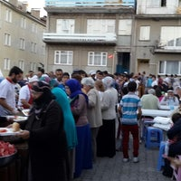 Photo taken at Yücelen İftar çadırı by Alper on 8/2/2013