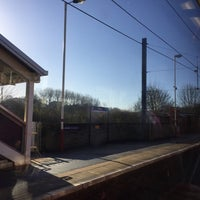 Photo taken at Shipley Railway Station (SHY) by Lucas P. on 2/18/2016