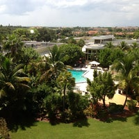 Photo taken at DoubleTree by Hilton Hotel and Executive Meeting Center Palm Beach Gardens by January S. on 9/8/2013