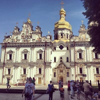 Photo taken at Kyiv Pechersk Lavra by Yuliya N. on 5/11/2013