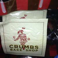 Photo taken at Crumbs Bake Shop by Daisy on 11/9/2012