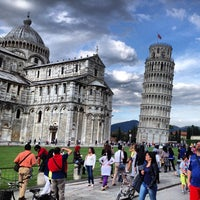 Photo taken at Tower of Pisa by Merve T. on 5/22/2013