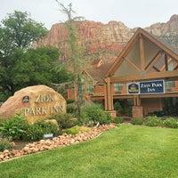 Photo taken at Best Western Zion Park Inn by Angela S. on 7/15/2014