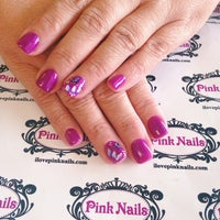 Photo taken at Pink Nails by Pink N. on 4/28/2015
