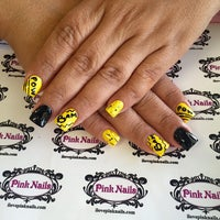 Photo taken at Pink Nails by Pink N. on 4/12/2015