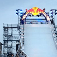 Photo taken at Red Bull Crashed Ice 2014 by K-Na E. on 1/26/2013
