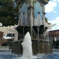 Photo taken at Winter Garden Village Fountain by Nicholas R. on 8/15/2013
