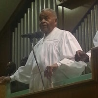 Photo taken at Mt Carmel Baptist Church by Charlotte C. on 1/1/2014