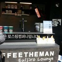 Photo taken at COFFEE THE MAN by Jaewon K. on 4/4/2014