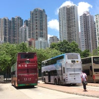 Photo taken at Belcher Bay Park / Kennedy Town Praya Bus Stop 卑路乍灣公園/堅尼地城海旁巴士站 by ソラシド on 6/28/2015