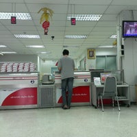 Photo taken at Lat Phrao Post Office by Nik on 3/12/2013