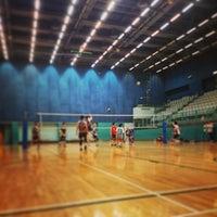 Photo taken at Tsing Yi Sports Centre 青衣體育館 by Derek J. on 6/12/2014