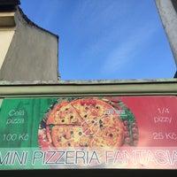 Photo taken at Pizzeria Fantasia by Jakub V. on 8/14/2016