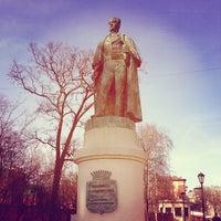Photo taken at Памятник Иоанису Каподистрия by Andrey B. on 4/19/2014