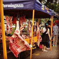 Photo taken at Pasar Tani Gelang Patah by Mkn A. on 11/17/2013