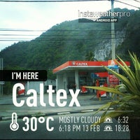Photo taken at Caltex Baling-Gerik Highway by Mkn A. on 2/13/2013