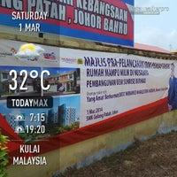 Photo taken at Smk Gelang Patah by Mkn A. on 3/1/2014