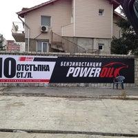 Photo taken at Бензиностанция Power Oil by Vasil T. on 2/16/2013