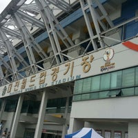 Photo taken at Daejeon Worldcup Stadium by 성현 원. on 5/3/2015