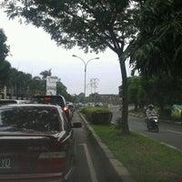 Photo taken at Jalan Ir. H. Juanda by Alfanso M. on 1/31/2014