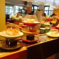Photo taken at Sushi Circle by Paola M. on 12/9/2014