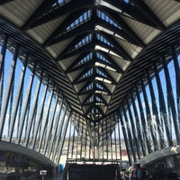 Photo taken at Station Aéroport Lyon Saint-Exupéry [Rhônexpress] by K. on 3/10/2017