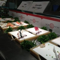 Photo taken at Nori Nori Japanese Buffet by Jade K. on 12/20/2012