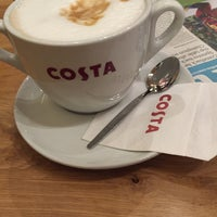 Photo taken at Costa Coffee by Lala A. on 3/17/2016