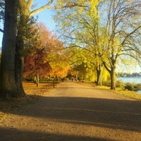 Photo taken at Alster Running Trail by Miriam W. on 10/26/2012