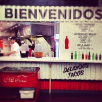 Photo taken at Los Tacos No.1 by Alyce R. on 6/22/2013