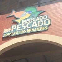 Photo taken at Mercado do Pescado by Angela P. on 2/17/2015