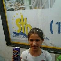 Photo taken at Supermercado Santa Terezinha by Cliquet D. on 1/31/2013