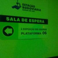Photo taken at Sala de espera - Rodoviária Caxias do Sul by Cliquet D. on 3/6/2014