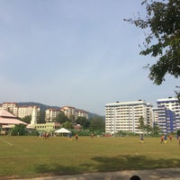 Photo taken at Padang Bola Sepak Galing Kem by dyla h. on 8/9/2016