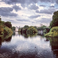 Photo taken at St James's Park by Martin F. on 10/7/2012