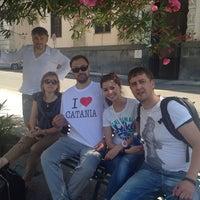Photo taken at Piazza San Francesco Di Paola by Alexey E. on 6/9/2014
