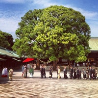 Foto scattata a Meiji Jingu Shrine da Sam C. il 9/22/2012