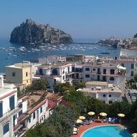 Photo taken at Villa Panoramica Hotel Ischia by John S. on 6/19/2013