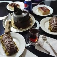 Photo taken at Özcan Pastanesi by Rabia B. on 4/17/2017